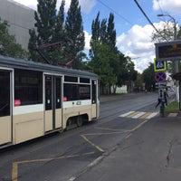 Photo taken at Трамвайная остановка «Серпуховская застава» by Sergey V. on 8/26/2017