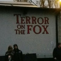 Photo taken at Terror On The Fox by Mad Tinker T. on 10/24/2015