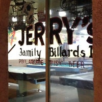 Photo taken at Jerry's Family Billiards by Rich H. on 8/19/2013