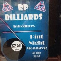 Das Foto wurde bei R.P. Billiards von Rich H. am 1/31/2014 aufgenommen