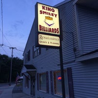 Photo taken at King Smiley Billiards by Rich H. on 2/25/2015