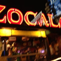 Photo taken at Zocalo Mexican Kitchen & Cantina by Don F. on 10/26/2012