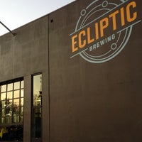 Photo taken at Ecliptic Brewing by Stephen S. on 10/27/2013