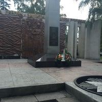 Photo taken at Памятник Участникам ВОВ by Таня К. on 7/16/2016