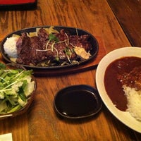 Photo taken at ステーキハウス 橋本 by Nao on 4/7/2013