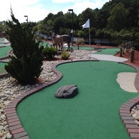 Photo taken at Adventure Golf by Brian G. on 8/27/2014