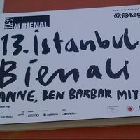 Photo taken at 12. İstanbul Bienali by Ahu K. on 9/14/2013