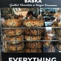 4/14/2018 tarihinde Andreea N.ziyaretçi tarafından Wise Sons Bagel & Coffee'de çekilen fotoğraf