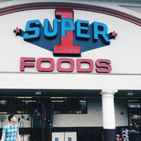 Photo taken at Super 1 Foods by Paul D. on 6/14/2014