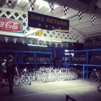 Photo taken at Blazing Saddles Bike Rentals by Alex K. on 5/12/2013