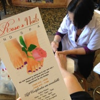 Photo taken at Roses Nails by Jamie S. on 4/11/2013