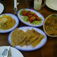 Photo taken at Pakistan Restaurant - Taj Mahal by Intan R. on 12/24/2012