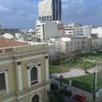 Photo taken at Piraeus Theoxenia Hotel by Kostantinos D. on 2/7/2013