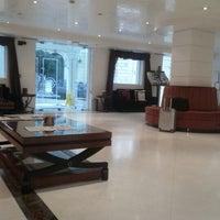 Photo taken at Piraeus Theoxenia Hotel by Kostantinos D. on 2/13/2013