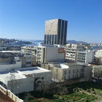 Photo taken at Piraeus Theoxenia Hotel by Kostantinos D. on 2/1/2013