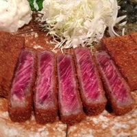6/30/2013にHidenobu K.が牛かつもと村 渋谷本店で撮った写真
