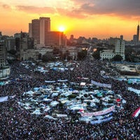 Photo taken at Tahrir Square by Hany F. on 10/21/2012
