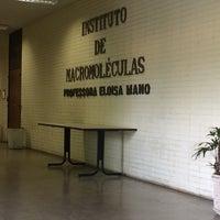 Photo taken at Instituto de Macromoléculas Professora Eloisa Mano (IMA) by Day F. on 4/3/2017