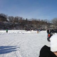Photo taken at Lake Menomin by Keaton on 2/2/2013