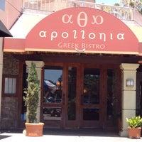 Photo taken at Apollonia Greek Bistro by Katrin on 6/28/2016