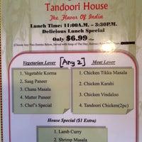 Foto scattata a Tandoori House da Katrin il 1/13/2015