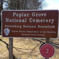 Photo taken at Poplar Grove National Cemetary by Scott J. on 3/9/2013