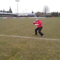 Photo taken at Marcel De Kerpelstadion by Jan V. on 4/5/2013