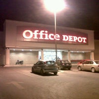 Photo taken at Office Depot by Juan M. on 1/20/2013