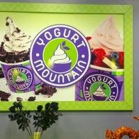 Photo taken at Yogurt Mountain by Teresa on 10/14/2012