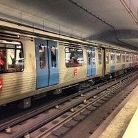 Photo taken at Metro Avenida [AZ] by Sérgio H. on 4/9/2013