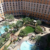 Photo taken at Wyndham Grand Desert by Ríon M. on 4/23/2013