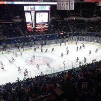 Photo taken at Nassau Veterans Memorial Coliseum by Eddie W. on 4/13/2013