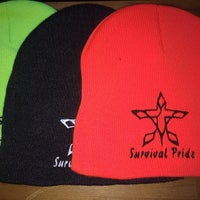 Photo taken at Survival Pride Clothing by Faustine M. on 2/27/2014