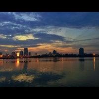 Photo taken at Woodlands Waterfront by Guosheng on 5/26/2013