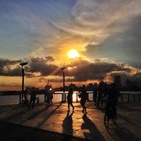 Photo taken at Woodlands Waterfront by Guosheng on 5/5/2013
