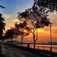 Photo taken at Woodlands Waterfront by Guosheng on 3/9/2013
