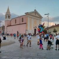 Photo taken at Trg Slobode by Hrvoje R. on 7/29/2013