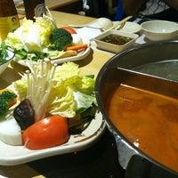 Photo taken at Shabu Zen by Supisara C. on 10/5/2012