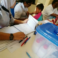 Photo taken at Sekolah Kebangsaan Bakap Indah by rabiatul a. on 4/8/2016