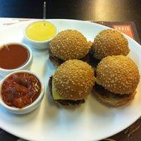 Photo taken at Eddie Fine Burgers by Dani L. on 3/9/2013