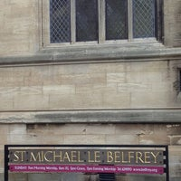 Photo taken at St Michael le Belfrey by Jerry R. on 5/29/2013
