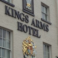 Photo taken at Kings Arms Hotel by Jerry R. on 5/28/2013