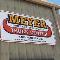 Photo taken at Meyer Truck Center by Morgan M. on 8/28/2013
