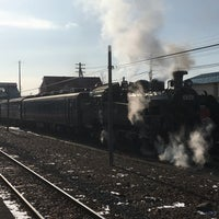 Photo taken at Shibecha Station by おが708 on 1/28/2018