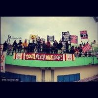 Photo taken at Stadion Manahan by PasoepatiNet on 5/17/2013