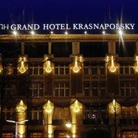 Снимок сделан в NH Collection Amsterdam Grand Hotel Krasnapolsky пользователем .͡.͡▹ ЯU̲ A. 10/9/2012