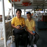 Photo taken at Wat Mahathat Pier by Wannapa R. on 12/5/2014