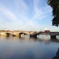 Photo taken at Putney Bridge by Simon L. on 10/17/2013
