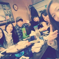 Photo taken at 떡삼겹살 강남 by Serena L. on 3/31/2013