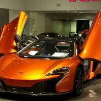 Photo taken at McLaren Auto Gallery Beverly Hills by Rick M. on 7/6/2016
